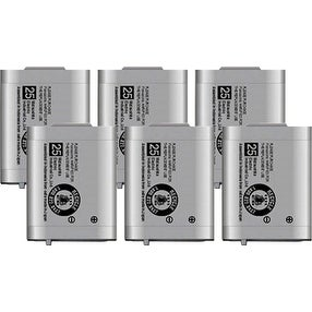 Replacement Panasonic HHR-P103A NiMH Cordless Phone Battery (6 Pack)