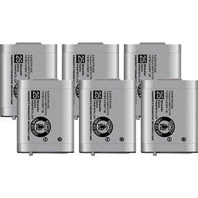 Replacement Panasonic KX-TD7680 NiMH Cordless Phone Battery (6 Pack)