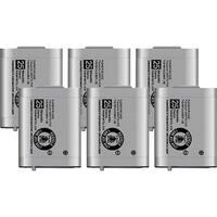 Replacement Panasonic P-P103 NiMH Cordless Phone Battery (6 Pack)