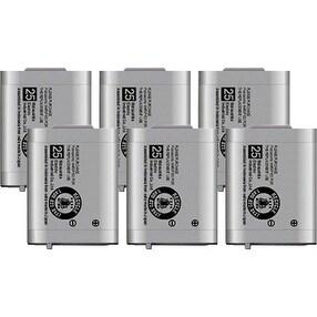 Replacement Panasonic KX-TD7896 NiMH Cordless Phone Battery (6 Pack)