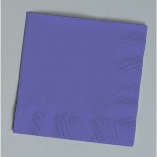 Touch Of Color 50 Count Beverage Napkins Purple
