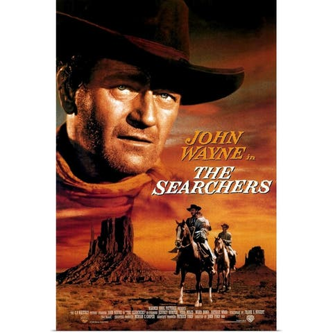 """""""The Searchers (1956)"""" Poster Print"""
