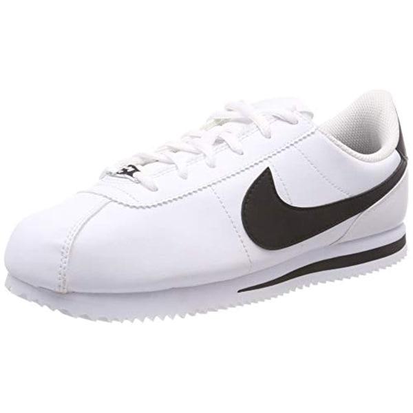 d15ad99a37be Shop Nike 904764-102  Kids Cortez Basic Sl White Black Sneakers ...