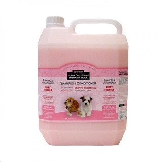 Alpha Dog Series Shampoo & Conditioner - Puppy Formula - (4L)