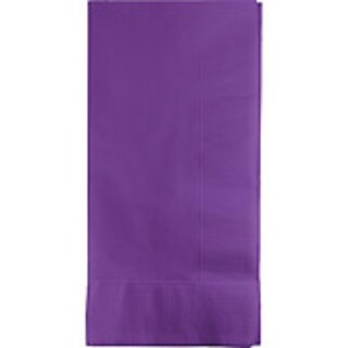"""Club Pack of 250 Amethyst Purple Premium 3-Ply Disposable Paper Dinner Napkins 8"""""""