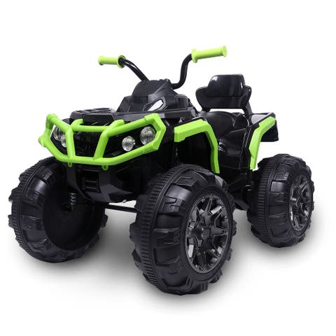 Kids Ride-on ATV, Electric Cars for Kids, Ride on Truck Cars, Double Drive Motor Battery Motorized Vehicles
