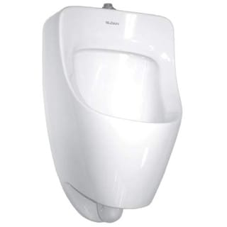 Sloan SU-7009-A Efficiency Dual Flush 0.125 to 0.5 GPF Small Urinal with Top Spu - White