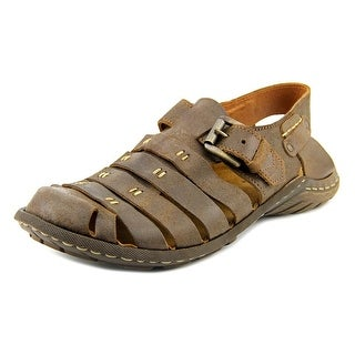 Josef Seibel Logan 04 Round Toe Leather Fisherman Sandal