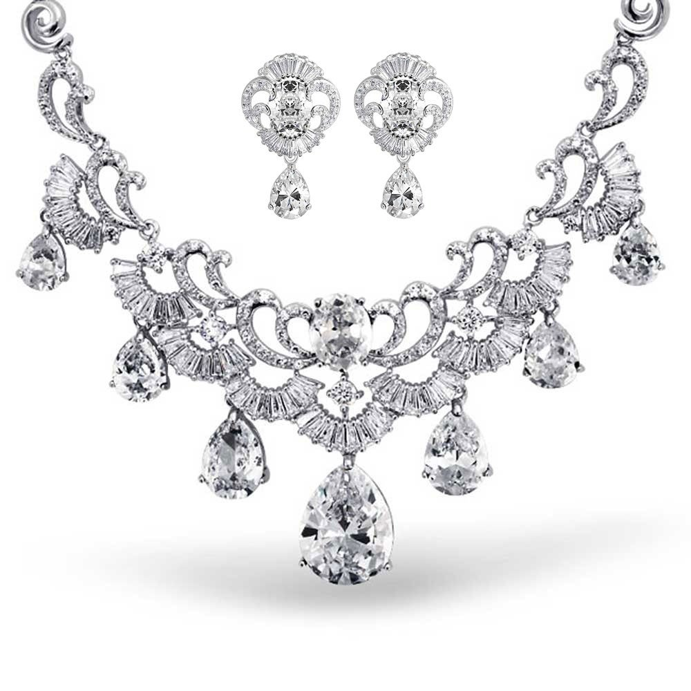 e96d2c540 Cubic Zirconia Jewelry Sets | Find Great Jewelry Deals Shopping at Overstock