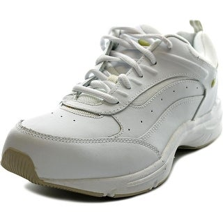 Easy Spirit grasp W Round Toe Leather Sneakers