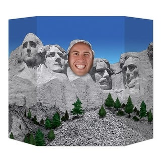 """Pack of 6 Presidential Mountain Photo Prop Decorations 37"""" x 25"""""""