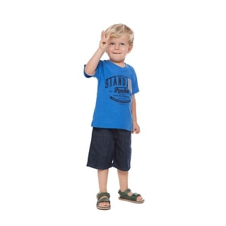 Toddler Boy Graphic T-Shirt Little Boys Short Sleeve V-Neck Pulla Bulla 1-3 Year