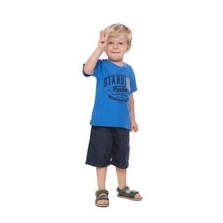 Toddler Boy Graphic T-Shirt Little Boys Short Sleeve V-Neck Pulla Bulla 1-3 Year