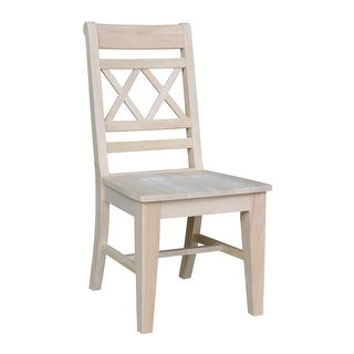 Link to International Concepts Canyon Wooden Dining Chairs (Set of 2) Similar Items in Dining Room & Bar Furniture