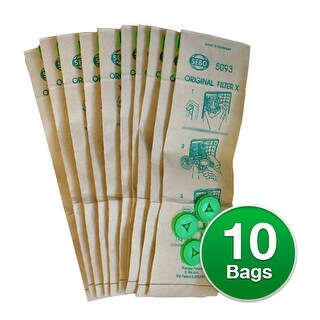 Genuine Vacuum Bag for Sebo X1 / X4 / X4 Extra / X5 Vacuums
