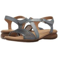 Naturalizer Womens Juniper Open Toe Casual Strappy Sandals