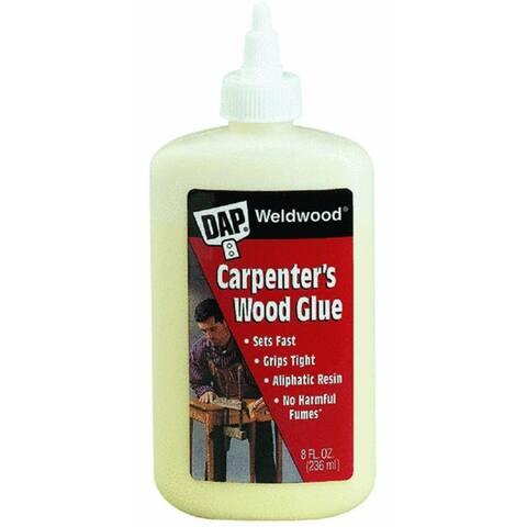 Dap 00490 Weldwood Professional Carpenter's Wood Glue, 8 Oz, Yellow