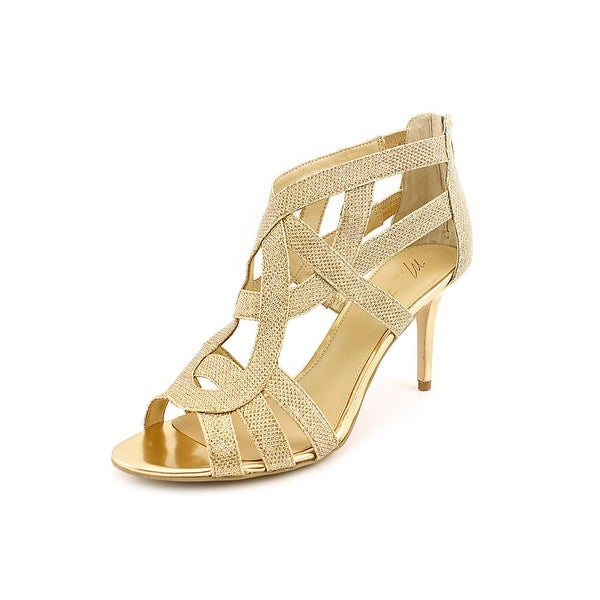 Marc Fisher Nala3 Womens Gold Multi Sandals