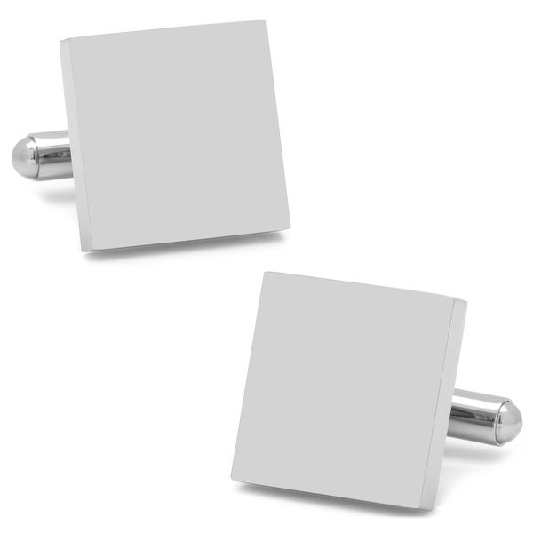 Stainless Steel Square Infinity Cufflinks
