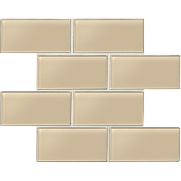 Daltile Am36l Amity 6 X 3 Subway Wall Tile Smooth Gl Visual