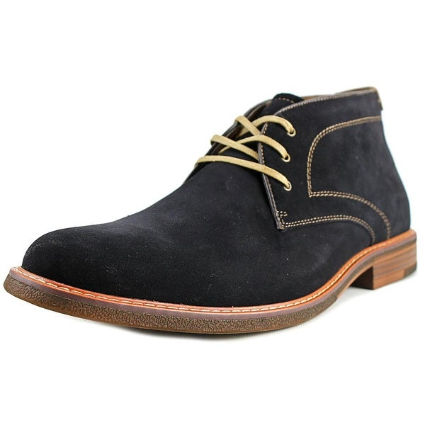 Bass Hurley Men Navy Boots