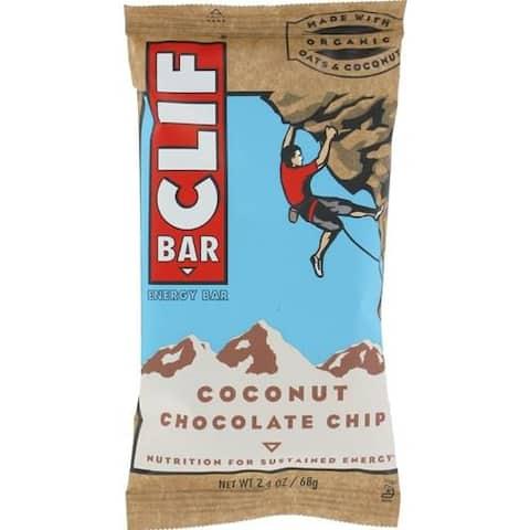 Clif Bar - Coconut Chocolate Chip Clif Bar ( 12 - 2.4 OZ)