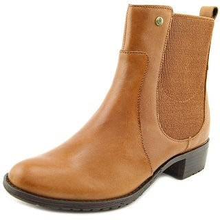 Hush Puppies Lana Chamber Round Toe Leather Ankle Boot