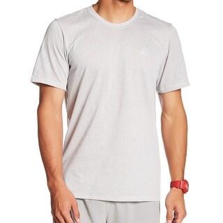 Adidas NEW Gray Mens Size Medium M Performance Athletic Apparel Shirt