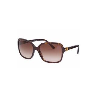 Bvlgari Ladies Sunglasses In Dark Tortoise - Dark Tortoise - One Size