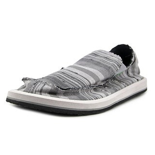 Sanuk Donny Men  Moc Toe Canvas Gray Loafer