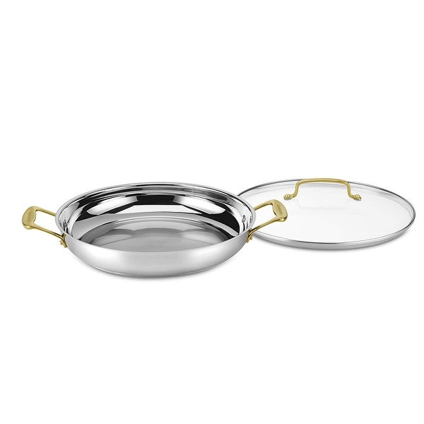 Cuisinart C7M25-30DGD Mineral Collection 12-Inch Everyday Pan, Stainless Steel. Opens flyout.