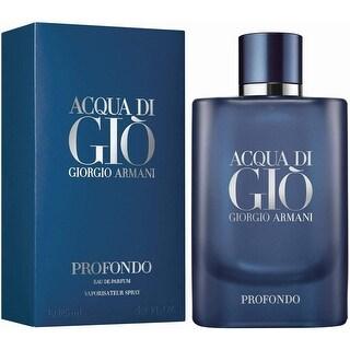 Link to Acqua Di Gio Profondo 4.2 Eau De Parfum Spray For Men Similar Items in Perfumes & Fragrances