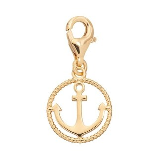 Julieta Jewelry Anchor Rope Halo Clip-On Charm