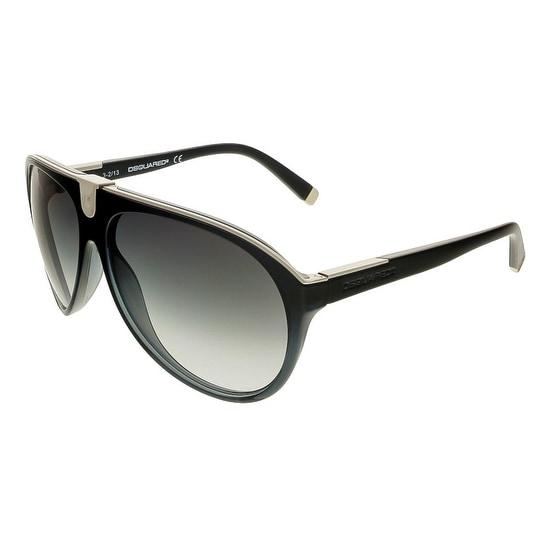 Dsquared DQ0069/S 92B Black Aviator Sunglasses