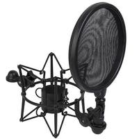 LyxPro LMST-2 Universal Shock Mount with Pop FIlter