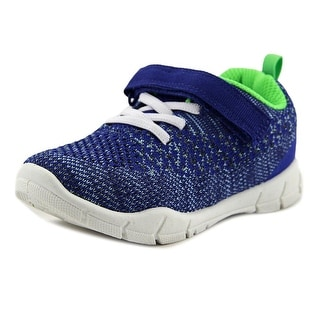 Carter's SwipeB Youth Round Toe Canvas Blue Sneakers