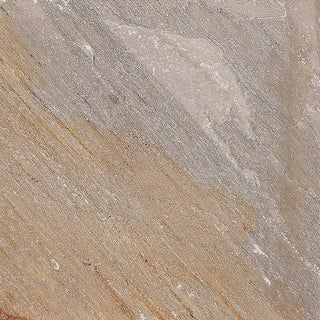 "MSI SGLDQTZ2424G  24"" x 24"" Square Wall & Floor Tile - Smooth Quartzite Visual - Sold by Piece - Natural"
