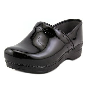 Dansko Pro XP Round Toe Patent Leather Clogs