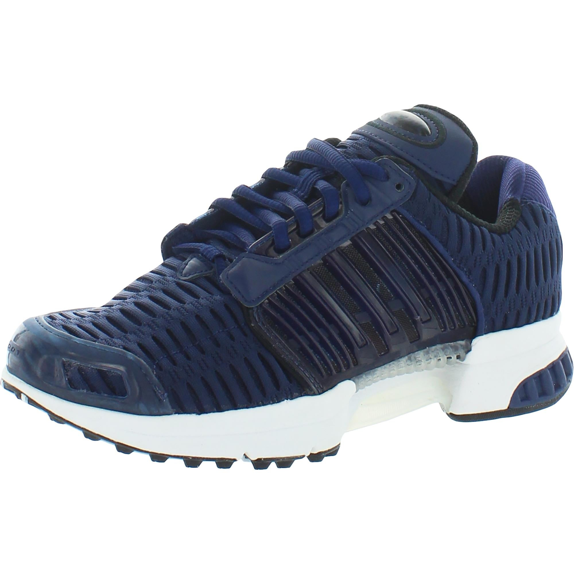 adidas Originals Mens Clima Cool 1 Running Shoes Knit Sneakers - Dark Blue/Dark Blue/Footwear White