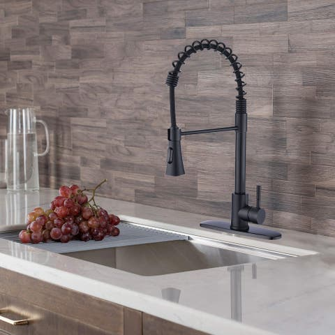 Proox 2-Function Commercial Pulldown Kitchen Sink Faucet