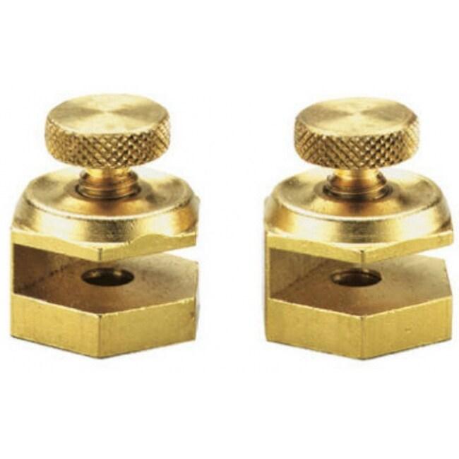 General Tools 803 Stair Gauge Set, Solid Brass