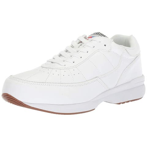 89aec0d2b746 Propét Mens Propet Walker LE Leather Low Top Lace Up Walking Shoes