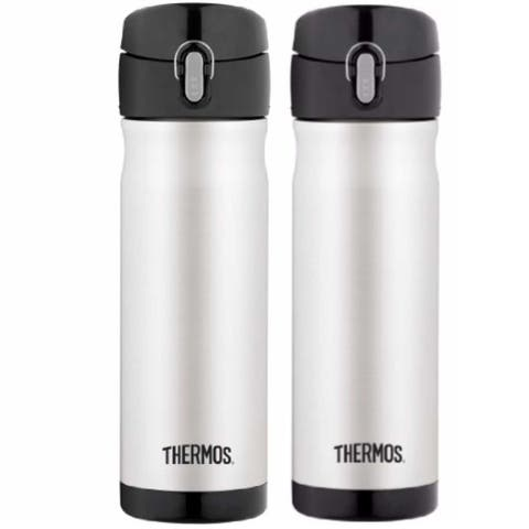 a96e391fc9 Thermos Vacuum Insulated 16 Oz Stainless Steel Commuter Bottle (2-Pack)