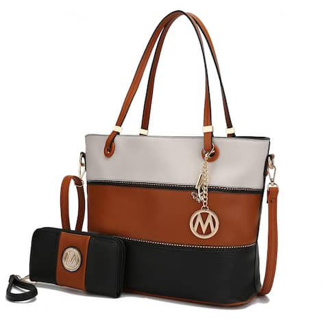 MKF Collection Vallie Tote Bag with Wallet by Mia K.