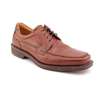 Ecco Seattle Men Apron Toe Leather Brown Oxford