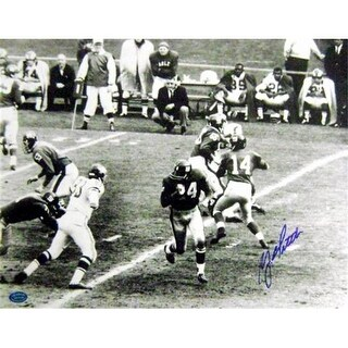 Y.A. Tittle Autographed Photo New York Giants Hall Of Fame