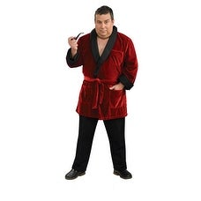 Playboy Hugh Hefner Smoking Jacket Big & Tall 46-52 - big & tall