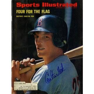 Carlton Fisk 92572 Sports Illustrated Magazine