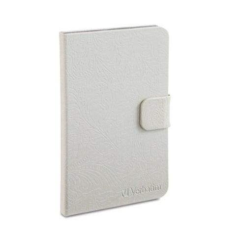 Verbatim Folio Case for Kindle Fire, 98082, 2012\Second Generation, Pearl White