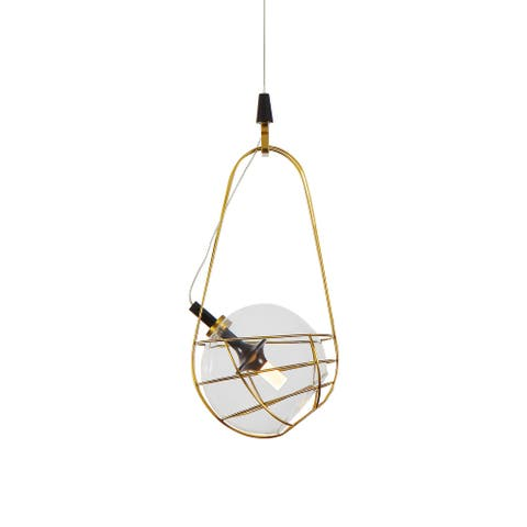 VONN Lighting Firenze VAP2151AB 8-inch Integrated LED Pendant